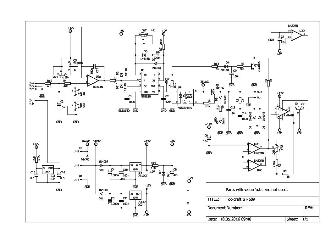 Modernizacja stacji lutowniczej ST-50-A - elektroda pl