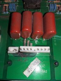MAGNUM MIG 330 4x4 - iskrzenie na płycie PEM-01B