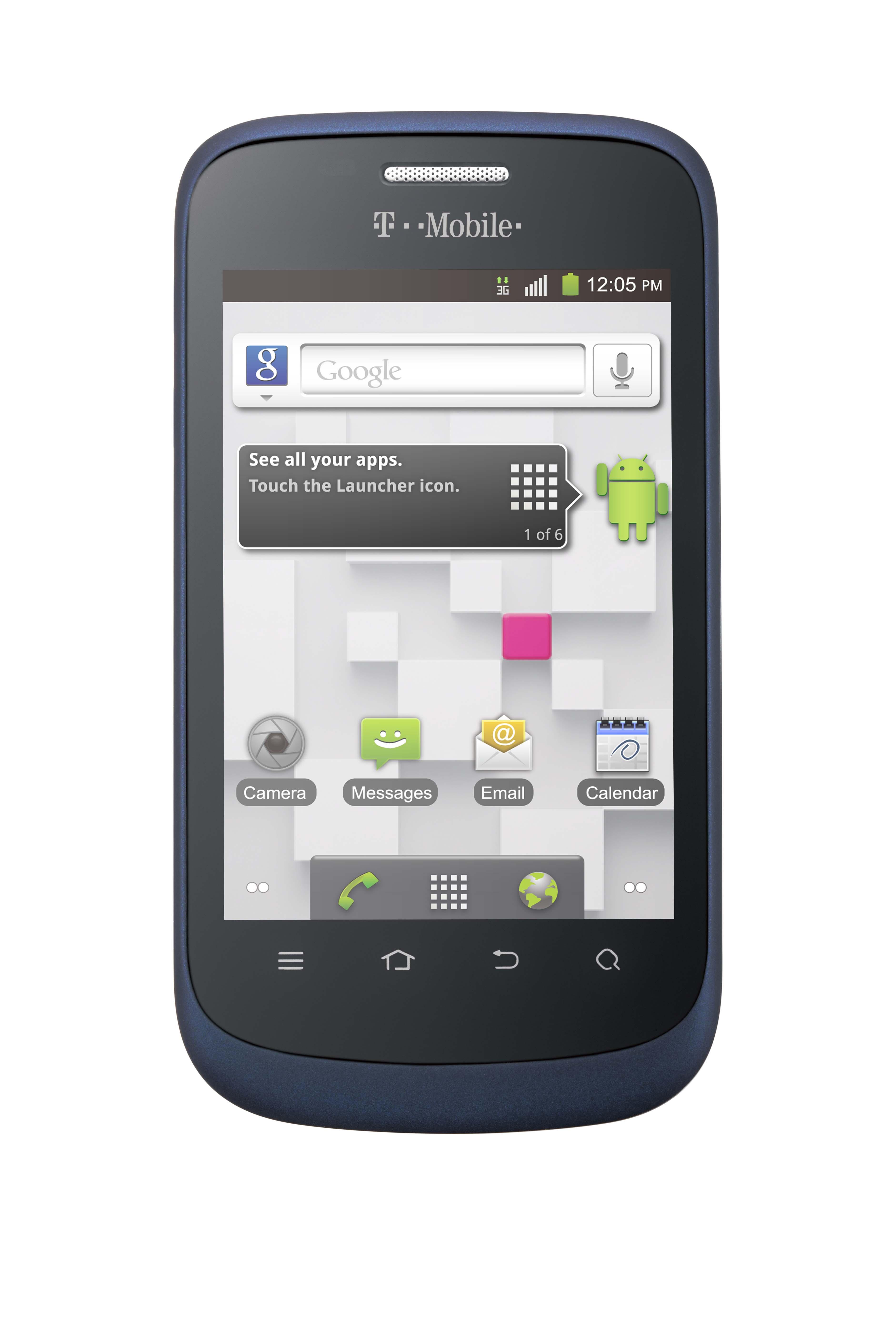 """ZTE Concord - bud�etowy smartphone z 3,5"""" ekranem i Android 2.3"""