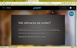 Problem z player.pl/vod.pl - Odtwarza reklamy, materiału już nie
