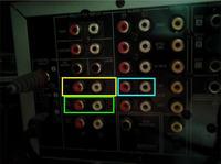 Jak podłączyć yamahę htr 5930 do komputera ( mam kabel co dalej? )