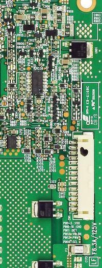 Samsung LE32A551 - inwerter nie włącza się/ brak podświetlenia/.