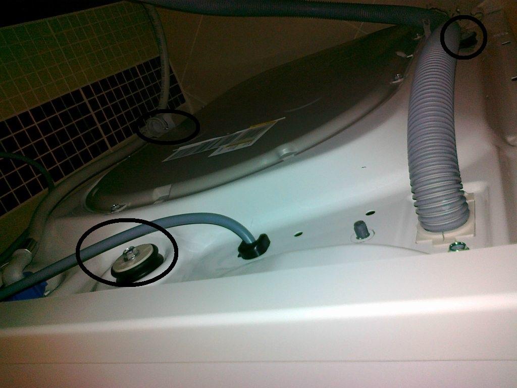 ELECTROLUX EWS 106410W, bardzo trz�sie przy wirowaniu