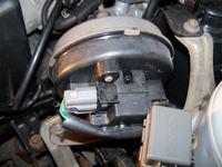 Mazda 626 GF 2001 - Przew�d podci�nienia tempomatu
