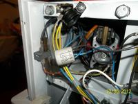 AEG Z-BM 0005 spuchnięty kondensator w pedale magla
