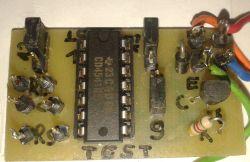 Timer CD4541 gotowy do montażu