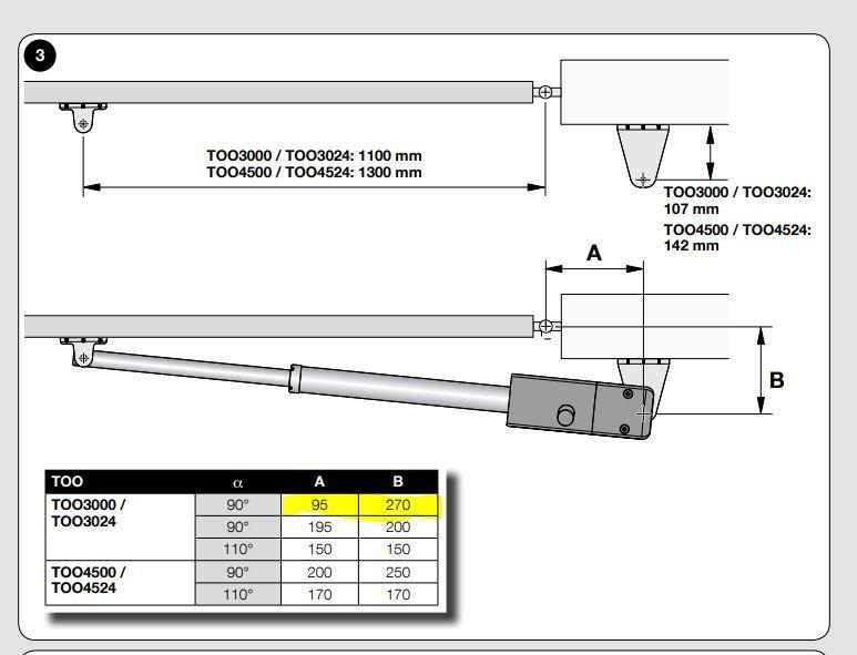 Dobór siłownika, brama pełna 2,2 wysokość x 2m
