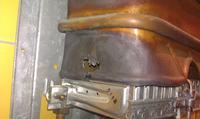 Junkers WRP 275-1 KB - Uszkodzona os�ona - czy konieczna wymiana?