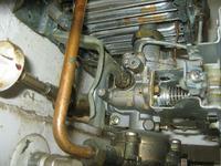 Junkers FD871 - ustawienie palnika (ga�nie)