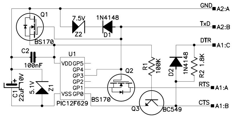 [12F675]JDM2 i problem z poprawnym wgraniem softu