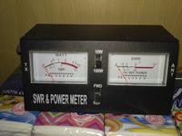 Dostrajanie anteny z moim SWR meter.