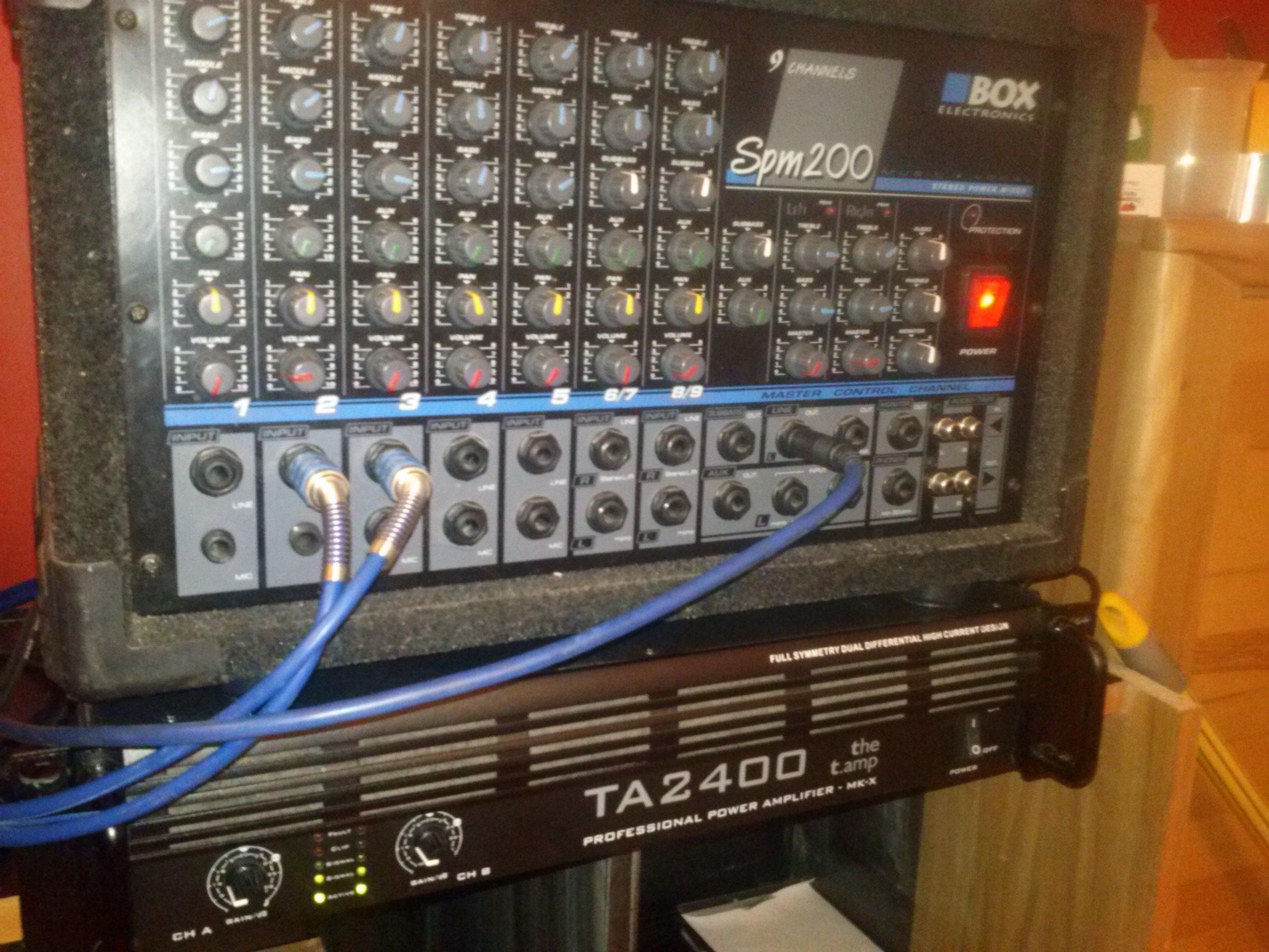 [Sprzedam] Powermixer SPM200 Box Electronics