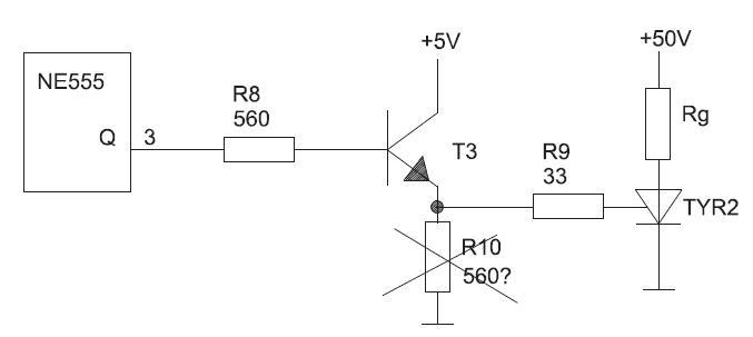 Zgrzewarka impulsowa ZI 500C -nowy sterownik na NE555 -czy dobry schemat