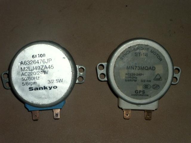 [Sprzedam] 2 silniki wolnoobrotowe AC230V 5/6rmp 2.5/3W