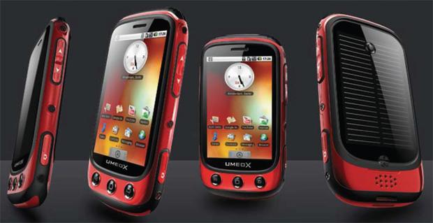 Umeox Apollo - smartphone z wbudowan� �adowark� s�oneczn�