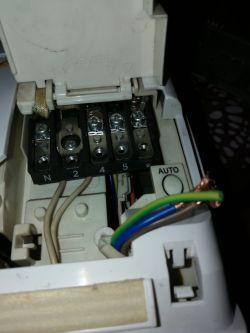 AIRFORCE klimatyzator naścienny typu SPLIT - podłączenie elektryki