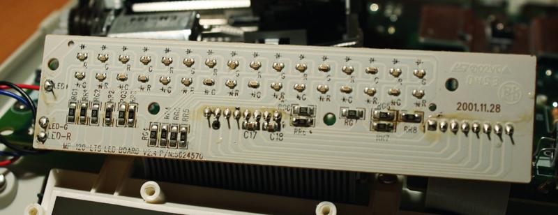 Kalkulator drukuj�cy Canon MP 120 LTS - nie w��cza si�