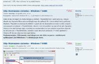 Windows 7 64 bit - Niewyraźne czcionki w przeglądarce Mozilla