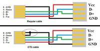 budowa w�asnego kabla otg - brak napi�cia