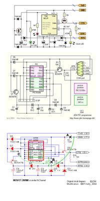 Programator PIC - JDM2 / PICKIT 2 / Naprawa PICKIT 3