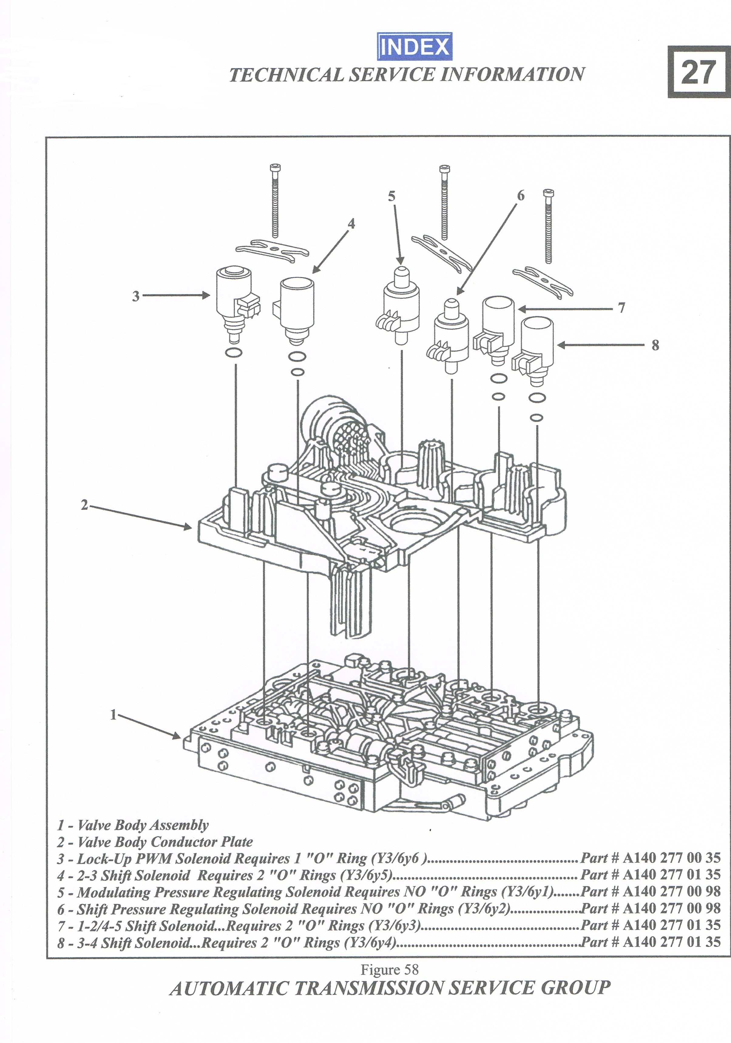 Mercedes C250 - Tryb awaryjny ASB. Nie dzia�a g�owny zaw�r ci�nienia