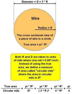 Wyliczanie powierzchni przekroju kabla, dopuszczalny prąd płynący przez przewód