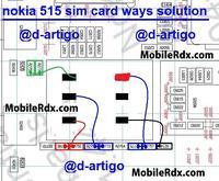 Nokia 515 (RM-953) - Nie wykrywa karty SIM