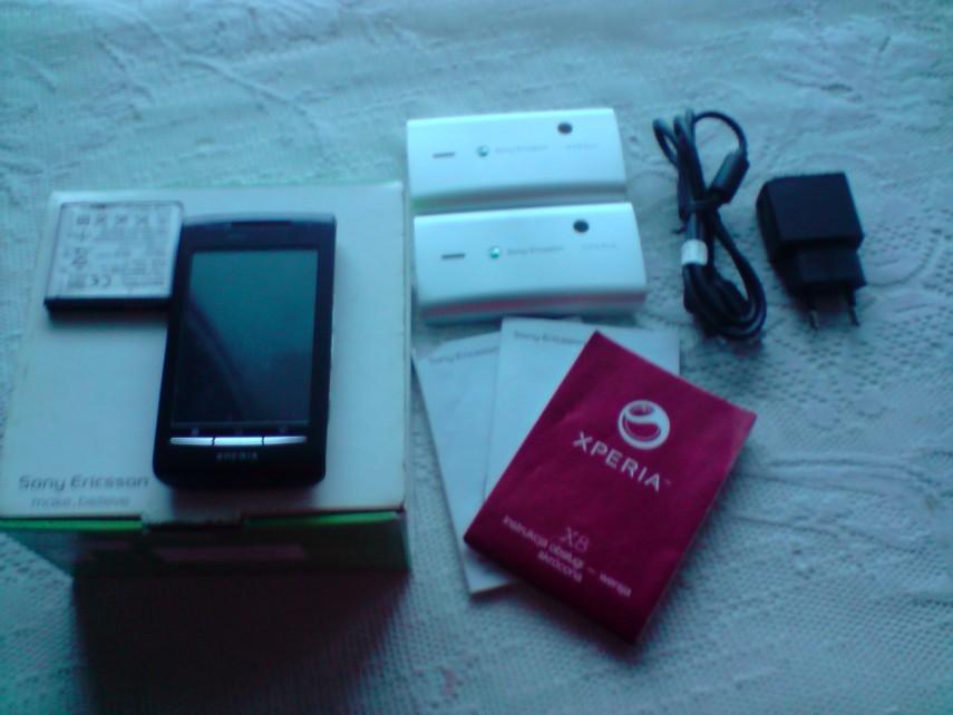[Sprzedam] Telefon Sony-Ericsson Xperia X8 Spory Komplet!!