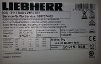 Lodówka Liebherr ICS 3113 - Alarm, ciągła praca agregatu, regulator temperatury