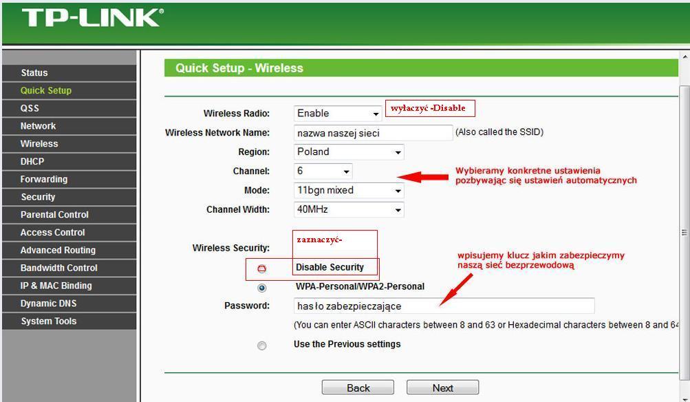 TP LINK TL-WR740N - Internet rozdzielony poprzez router...