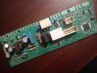 Zmywarka/AEG/Favorit86080 - Brak sterowania przekaźnika napięciowego od grzałki.