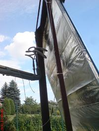 Sterowanie obracanym kolektorem słonecznym