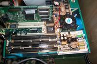 Zasilacz CWT 200PA /200W, a płyta główna FIC VA-502 -kabelek