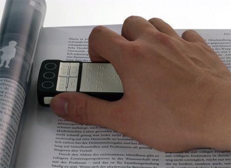 B-Touch- telefon dotykowy dla niewidomych