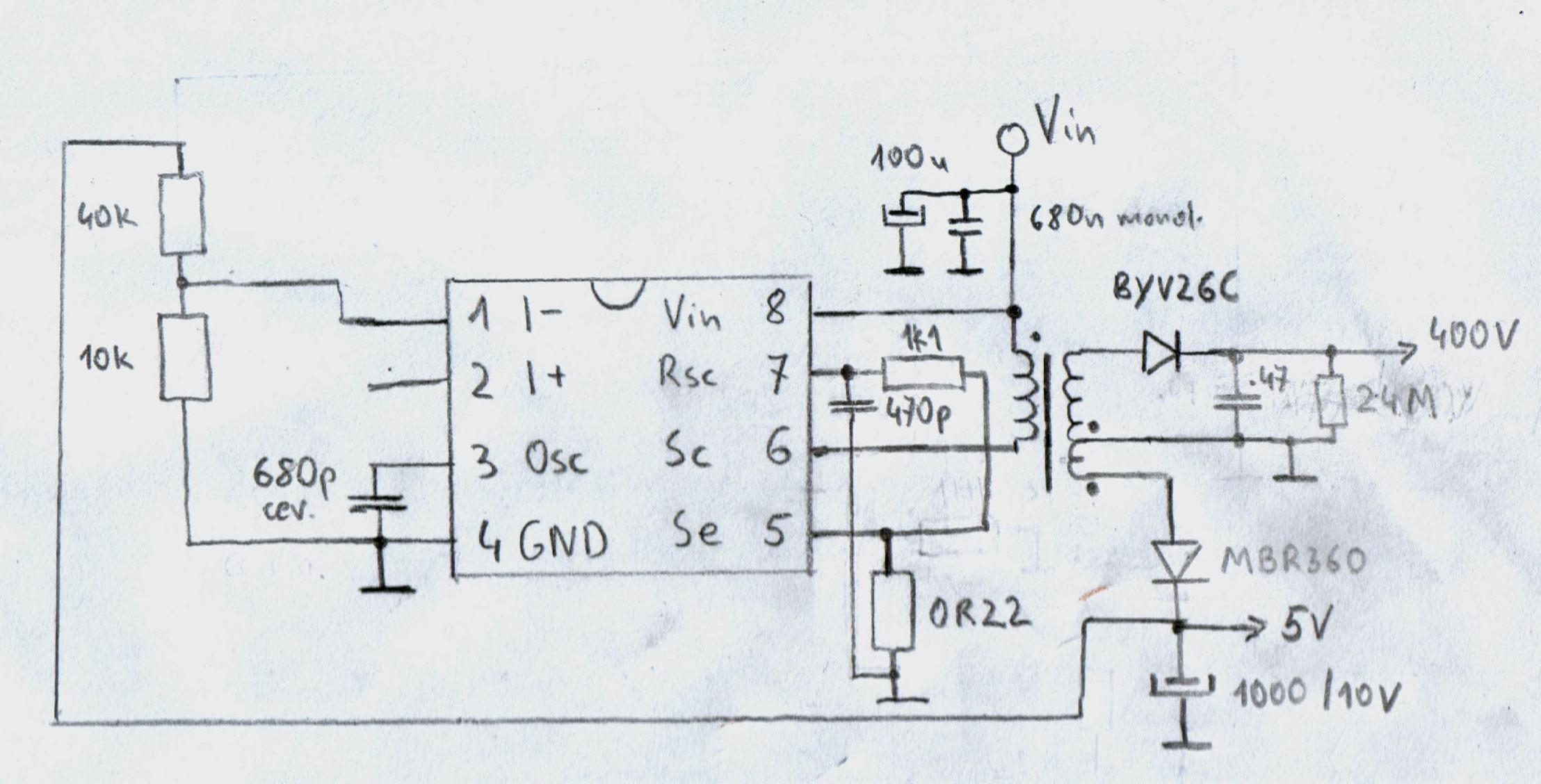 Przetwornice na MC34063 i podobne.