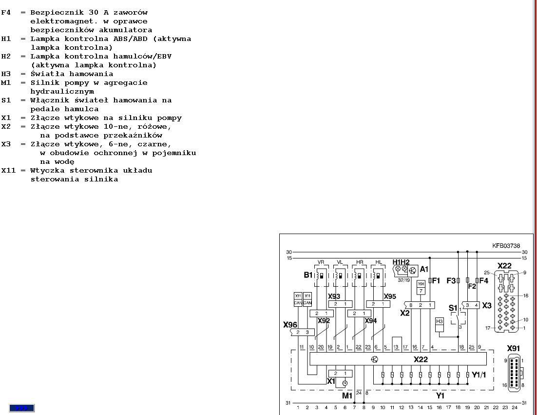 Ibiza 2,0 16V - Potrzebny schemat wtyku abs/eds