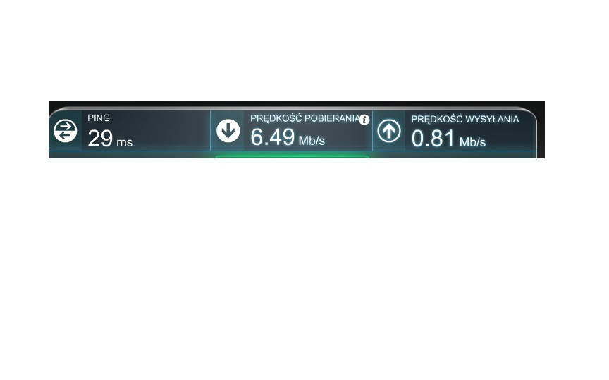 WiFi TL-WN721N Wzrastaj�cy ping