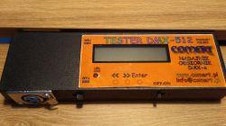 Tester DMX-512. Odbiornik, nadajnik.