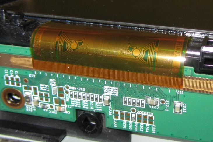 Philips 37PFL7662D/12 - Jak pod�ozyc gumk� pod  szk�o?