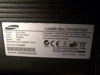 Samsung CLX-3185/SEE - brak możliwości zmiany numeru seryjnego drukarki SNChange