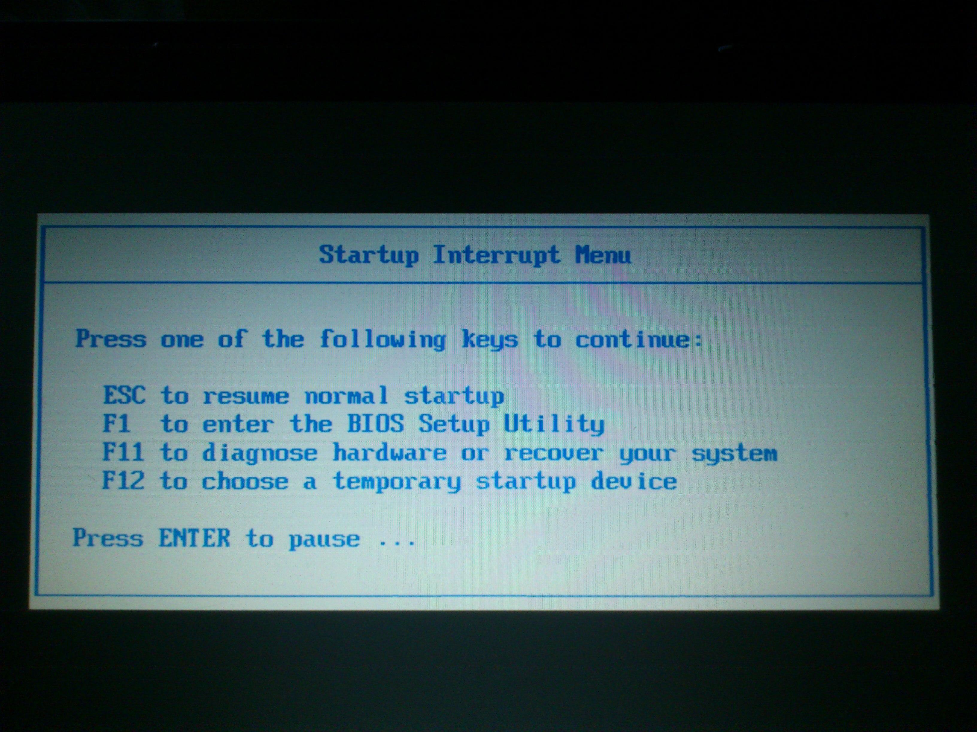 Lenovo 3000 N200 - Recorvery system nie chce si� uruchomi�