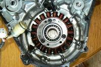 Yamaha Kodiak 400cc - Uk�ad zap�onowy, stator, czy to CDI?