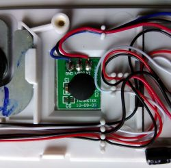 Waga kuchenna Sencor SKS 5011WH - szybka przeróbka zasilania