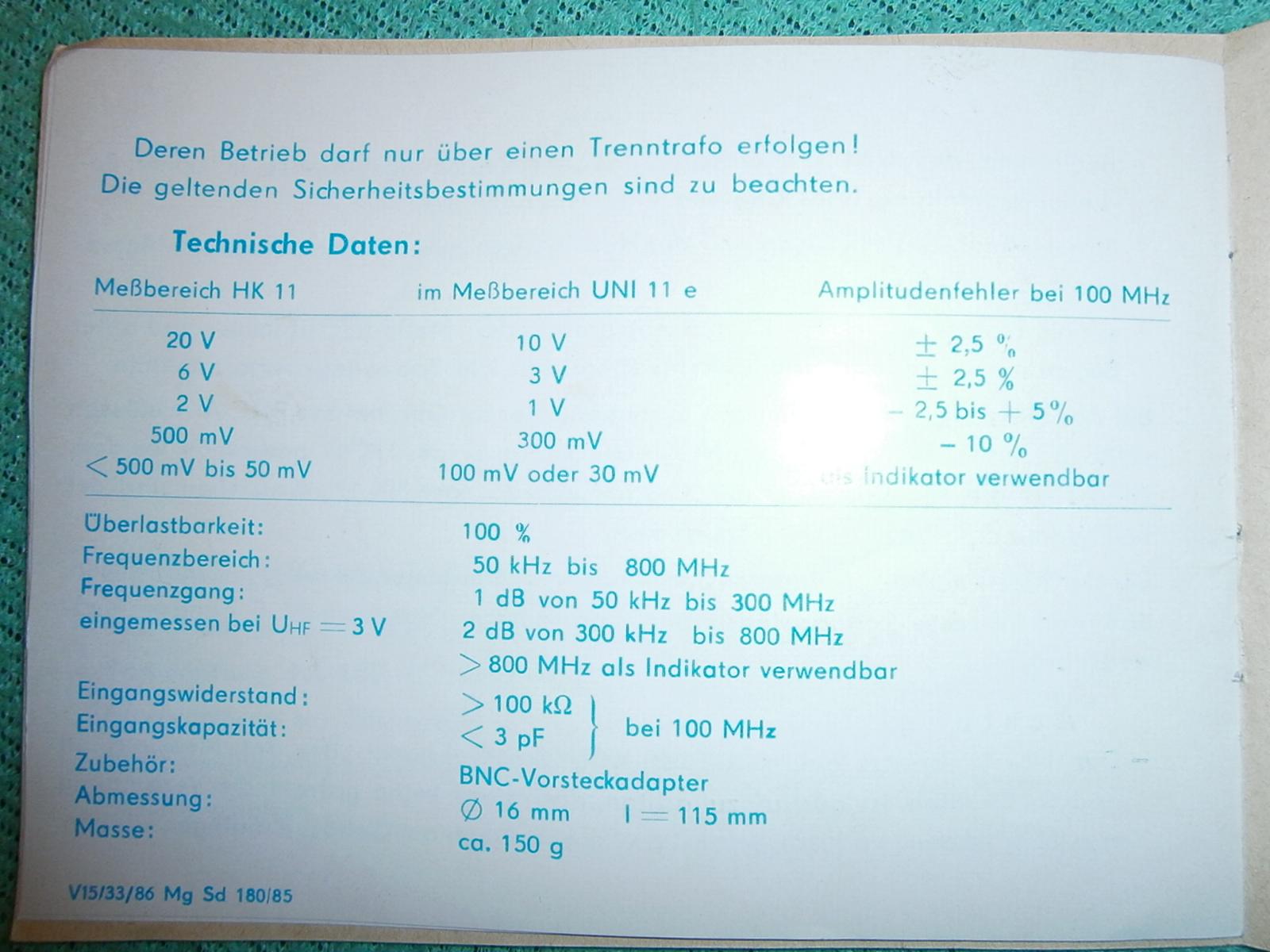 Baofeng UV-3R - minimalna moc w pa�mie UHF, VHF w porz�dku