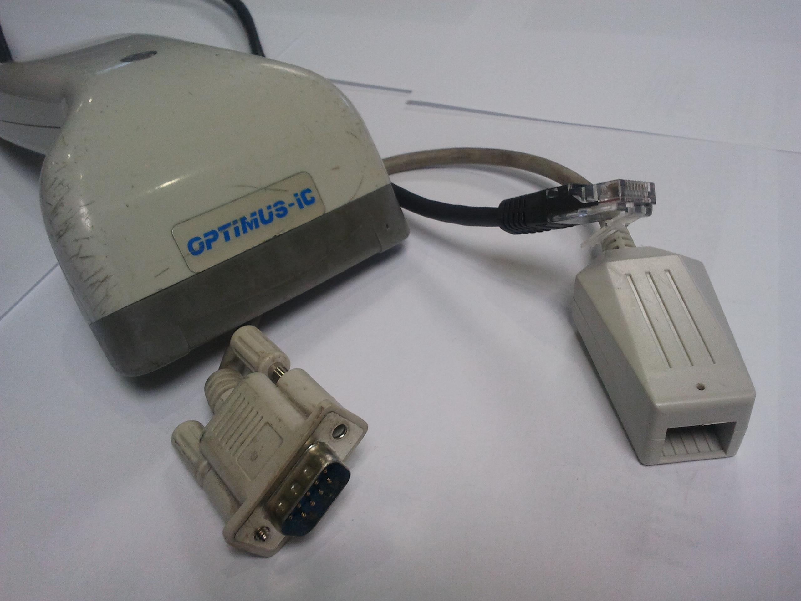 Czytnik kod�w kreskowych - Optimus-IC Flash II. Pro�ba o instrukcj� lub...