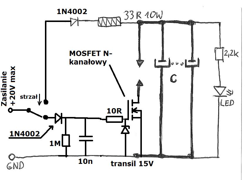 prosta zgrzewarka kondensatorowa - 2