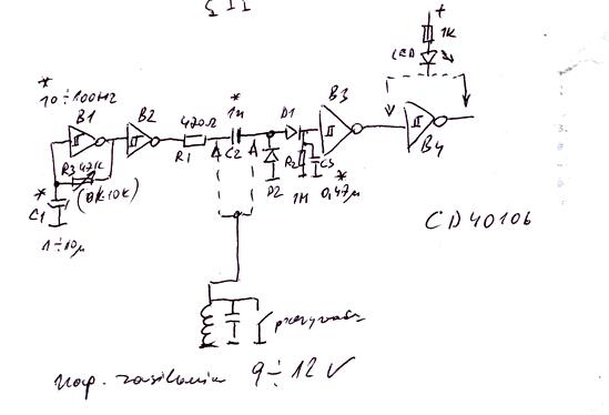 Czujnik rozwarcia styk�w przerywacza do motoru