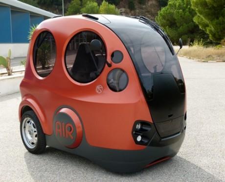 Tata AirPod - prototyp mini-samochodu, tym razem nap�dzanego powietrzem