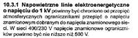 Brak odgromników na słupie NN.