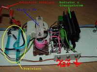 Tranzystor do generatora wysokiego napięcia z trafopowielacza